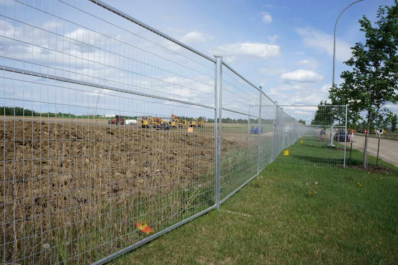 Temporary Fences for Construction Sites